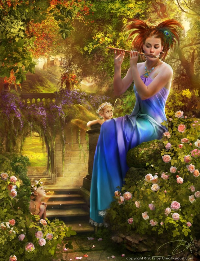 850x1111_13760_Piper_s_Lullaby_2d_fantasy_fairy_piper_rose_garden_picture_image_digital_art