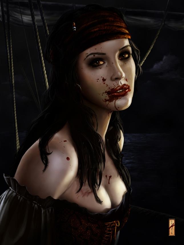960x1280_2960_Ravenous_2d_horror_blood_pirate_woman_sea_vampire_fantasy_picture_image_digital_art